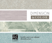Dimension and Color Wallpaper Book